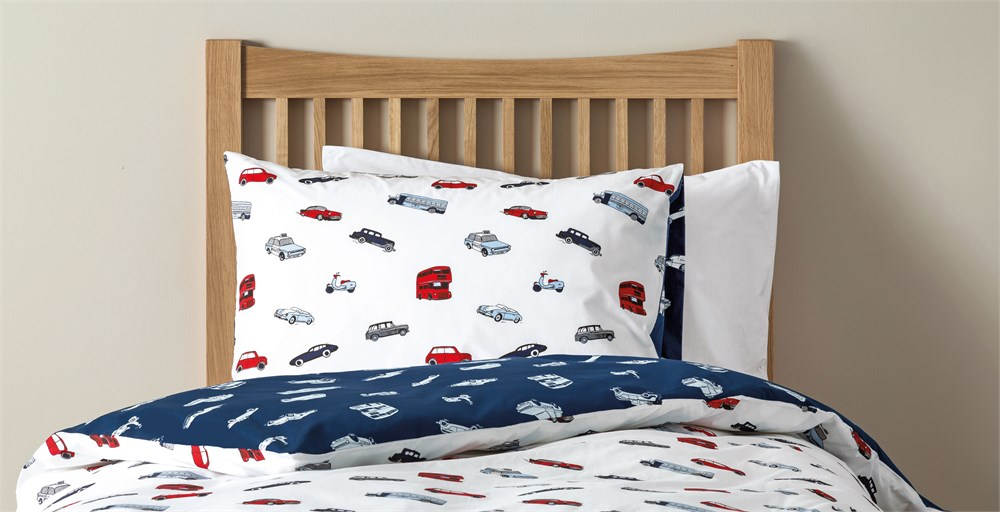 Bertie Cars Bed Linen Set